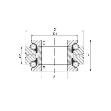 53307U+U307 ISO Thrust Ball Bearings