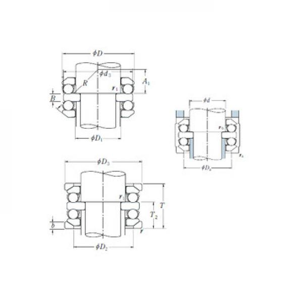 54224U+U224 CX Thrust Ball Bearings