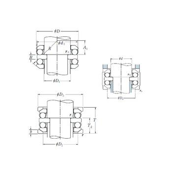 53234-MP FAG Thrust Ball Bearings