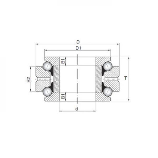 NU 324 ECM SKF Thrust Ball Bearings