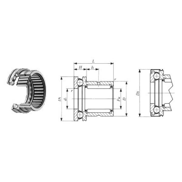 52205 NSK Thrust Ball Bearings